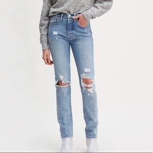 Levi's Made & Crafted 501 Skinny Selvedge Jeans 28